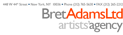 Bret Adams, LTD | Artists' Agency -